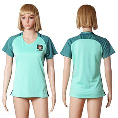 euro 2016 portugal away soccer jerseys womens customadd any number and