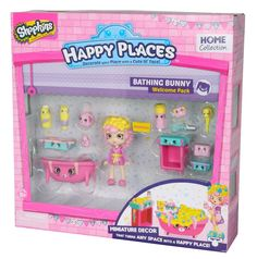 Shopkins Happy Places Welcome Pack Bathing Bunny for Kids Christmas Gift  #Shopkins