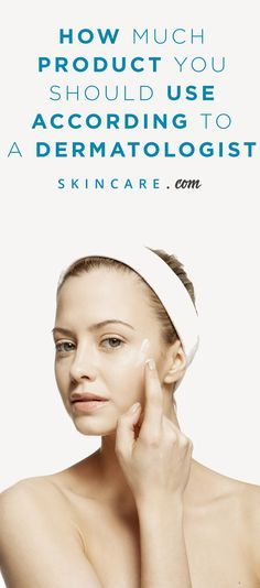 Have you ever wondered how much moisturizer, cleanser, sunscreen, and other skin care products you are supposed to use on your skin? So have we, which is why we turned to a top dermatologist to find out how much of every skin care product we should be using in our morning and nighttime skin care routines. | Powered by L'Oréal