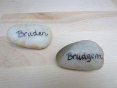 Naturlige bordkort av sten