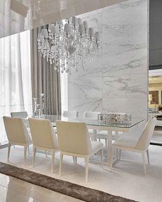 Rosamaria G Frangini | Architecture Interior Design | Beautiful Interiors | White marble