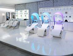Bahama Shampoo Units on the left | Takara Belmont