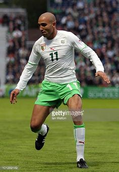 Rafik Djebbour of Algeria during the International Friendly match between Republic of Ireland and Algeria at the Royal Dublin Society Main Arena on...