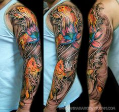 Arm Sleeve Tattoo Designs | Tattoo Design - xam tham my in orange county