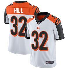 Nike Bengals  32 Jeremy Hill White Men s Stitched NFL Vapor Untouchable  Limited Jersey And Vontae 4e35f2156