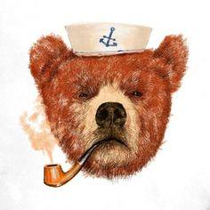Моряк - арт проект иллюстратора Dogooder'a » Смешные Анекдоты Истории Цитаты Афоризмы Стишки Картинки прикольные Игры