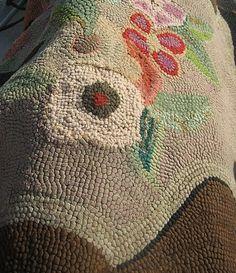 *Nice old hooked rug
