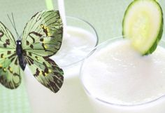~Cucumber And Melon Smoothie~