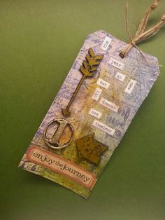Tim Holtz 12 Tags of 2015 - January! First one down!