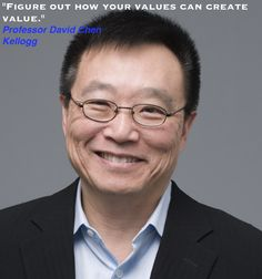 Thanks to Kellogg School of Management's Professor David Chen for sharing this inspiring message for our #WordsofWisdom campaign! #WOW  #SBCWOW #MBAinspiration #pursueyourdreams #businessschool #MBA #MBAadmissions #BeInspired