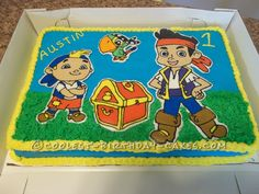 Coolest Jake and the Never Land Pirates Birthday Cake... Coolest Birthday Cake Ideas