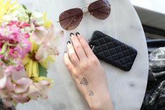 Diamond Medium Spirit Ink Temporary Tattoo by SpiritInk on Etsy