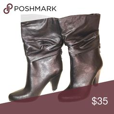 319c59f06c8d NWB ANA Slouch heel boots Gypsy Goth boho chic NWB Size 8 ANA (A.N.A.)