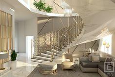New Kitchen Interior, Interior Architecture, Interior Design, Luxury Closet, Tile Ideas, 3ds Max, Autocad, Closets, Dubai