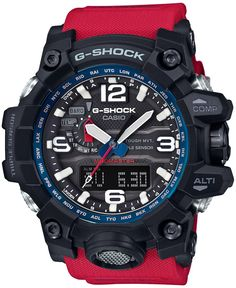 G-Shock Master of G Rescue Red series 2016 Casio G Shock Watches, Sport Watches, Casio Watch, Cool Watches, Watches For Men, Casual Watches, Wrist Watches, Men's Watches, Men Watches