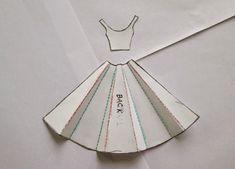 60 ideas origami bird tutorial dress card for 2019 Origami Vestidos, Origami Owl Parties, Origami Dress, Diy Origami, Origami Envelope, Dress Card, Paper Fashion, Cute Cards, Paper Dolls