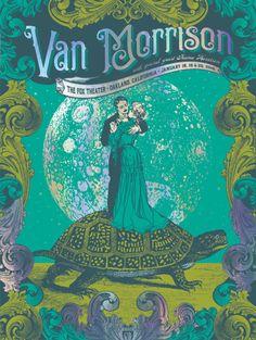 Image of Van Morrison - Oakland Rainbow Foil