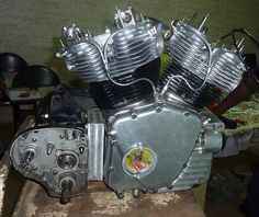 Norcroft Royal Enfield V-Twin Engine Production in India