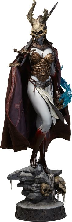 the Court of the Dead Valkyrie of the Dead Kier Premium Format Figure Statue #figurines #collectibles #statues