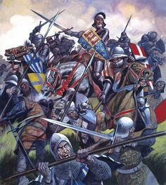 The Battle of Bosworth Field  War of the Roses