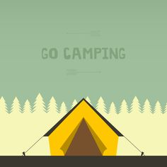 Go camping in the Smoky Mountains!