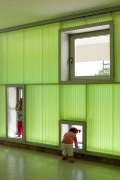 nursery school interior design Preschool Architecture Full Color by Pizzaro