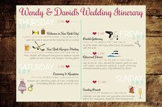 You've planned a fun weekend! Get all the details in one place with a charming custom itinerary.