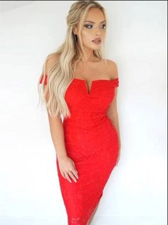 Sexy Evening Dress, Evening Dresses, Lace Homecoming Dresses, Formal Dresses, Red Lace, Dress Making, Beautiful Dresses, Off The Shoulder, Cocktail Dresses