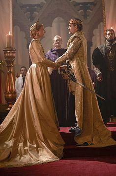 The Tudors Season 4 Episode 7 Henry's wedding to Katherine Parr.