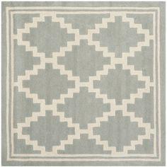 Safavieh Handmade Moroccan Chatham / Ivory Wool Rug