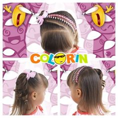 Hairstyle Braid, Love Me Forever, Cat Ears, In Ear Headphones, Sweet Hairstyles, Hairstyles For Babies, Crochet Braids Hairstyles, Child Hairstyles, Baby Gown