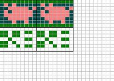 Pigs and clover chart by Sandra Jäger