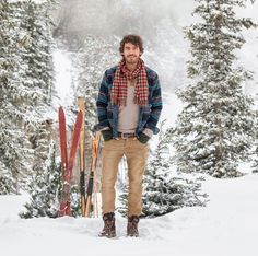 A beacon of rugged good looks anyway you wear it. Featuring Jeremiah Clothing's reversible brawny twill Chilton Shirt Jacket and the Stewart Corduroy Jean. Snow Outfit, Men Hiking, Gentleman Style, Outdoor Outfit, Shirt Jacket, Stylish Outfits, Corduroy, Men Casual, Mens Fashion