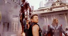 Avengers.. This was my favourite to see them in this scene!