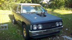 Blazer project w/ 1964 Impala headlights. A little rough but I like the idea. Small Trucks, Impala, Blazer, Vehicles, Car, Projects, Log Projects, Automobile, Blue Prints