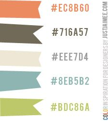 Daily Color Inspiration by Just Jaimee
