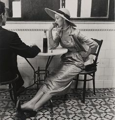 "While on assignment in Lima, Peru, Irving Penn would photograph model Jean Patchett on her first Vogue assignment for the editorial, ""Flying Down to Lima."" Penn's well-known image of the then 22-year-old model was reportedly taken candidly, as Patchett awaited the next scene, unknowing of the camera upon her."