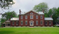 Buknore in Bourbon County was built by Walker Buckner from 1834 and 1841. Originally named Locust Grove, it was designed by Matthew Kennedy, Kentucky's first professional architect.
