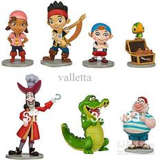 jake and the neverland pirates characters - Google Search
