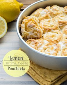 Lemon Cream Cheese Pinwheels - who can say no to a pastry filled with yum in the morning? Not this one!