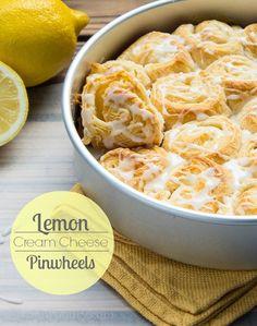 Lemon Cream Cheese Pinwheels