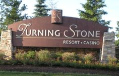 Shenendoah Golf Club at Turning Stone: Turning Stone Entrance Sign