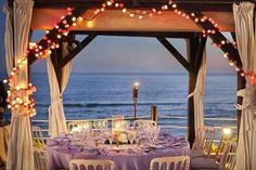 Banquete en la playa