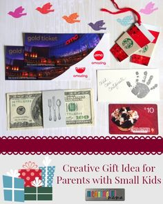 Best Christmas Gift for Parents with Small Kids - DIY Gift Idea