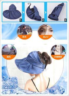 子供女の子帽子夏UVカット紫外線対策小顔効果ハット熱中症、暑さ対策アウトドア(メール便可)