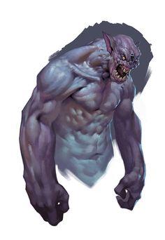 Sketches (monsters, zombies), Yerbol Bulentayev on ArtStation at https://www.artstation.com/artwork/sketches-monsters-zombies