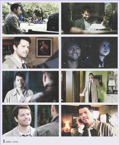 The way he smiles at Dean makes me melt.