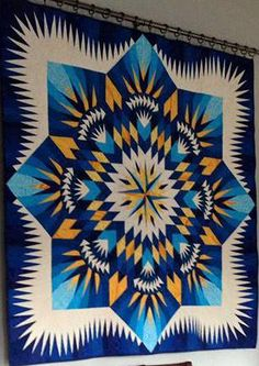 Prairie Star, Quiltworx.com, Made by Val, Quilted by Empress Quilting