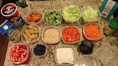 Como organizarte para comer sano toda la semana - YouTube