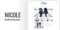 Nicole - Clean WordPress Blog Theme